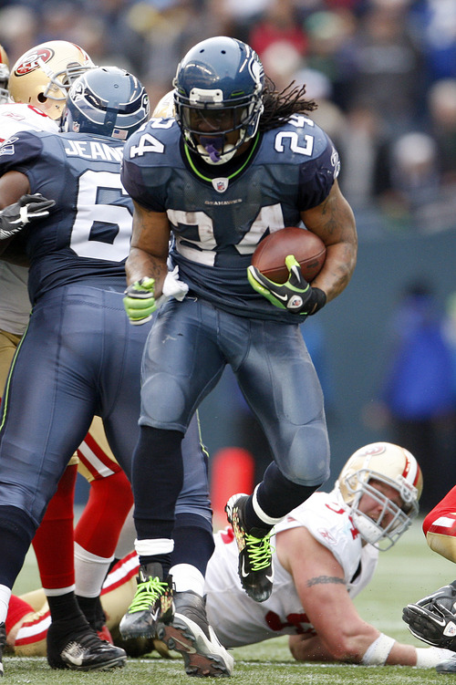Kevin Casey  |  AP file photo No, Marshawn Lynch, you cannot give the Packers a lifetime supply of Skittles instead of a first-round bye.