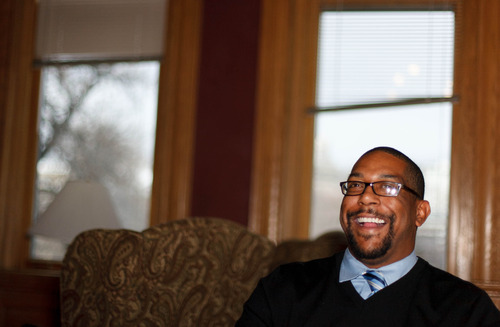 Trent Nelson  |  The Salt Lake Tribune Eric Shaw is the new community and economic development director for Salt Lake City, Thursday December 13, 2012.