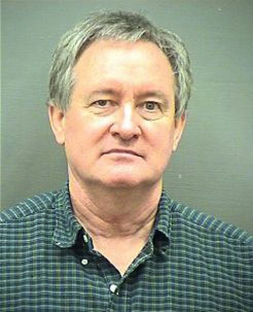 This Sunday, Dec. 23, 2012 booking photo provided by the Alexandria, Va. Police Department shows Idaho U.S. Sen. Michael Crapo. Crapo was arrested early Sunday morning, Dec. 23, 2012 and charged with driving under the influence in a Washington, D.C., suburb, authorities said. (AP Photo/Alexandria Police Department)