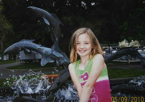 This 2010 photo provided by the family shows Sydnee Neiman on a family trip. She died in late 2011 after her mother Judy Neiman accidentally backed over her while driving her SUV. Although there is a law in place that calls for new manufacturing requirements to improve the visibility behind passenger vehicles, the standards have yet to be mandated because of delays by the U.S. Department of Transportation. (AP Photo/Courtesy of Judy Neiman)