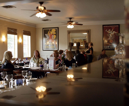 Tribune file photo Lugano in Holladay is one of several Utah restaurants that will be open on Christmas Eve and Christmas Day.