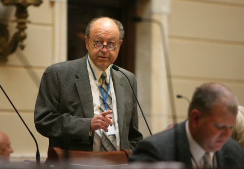 Tribune file photo Sen. Lyle Hillyard, R-Logan.