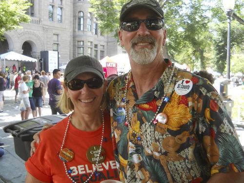 Paul and Sandy Krueger. Courtesy image