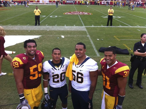 Former Cottonwood stars John Martinez, Isi Sofele, Ken Kafusi and Stanley Havili were on the field together again Saturday when Cal and USC played at Los Angeles Memorial Coliseum. Between 2004 and 2011, Cottonwood accumulated a 72-25 record, more wins than in the previous 24 seasons. More importantly, its stars went on to top college programs. Seeing the success, more families streamed in via open enrollment or transfers from Murray, Glendale and West Valley City.