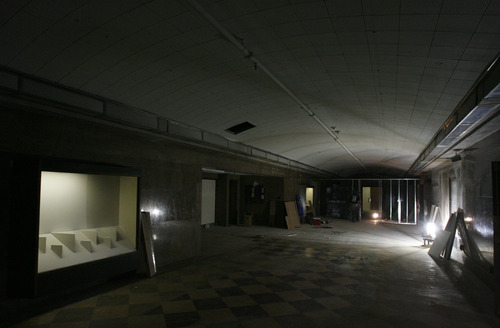 Rick Egan  |  The Salt Lake Tribune  The second floor of the old George Thomas library building, which later became the Natural History Museum. The building will be the home of a high-tech cell lab.