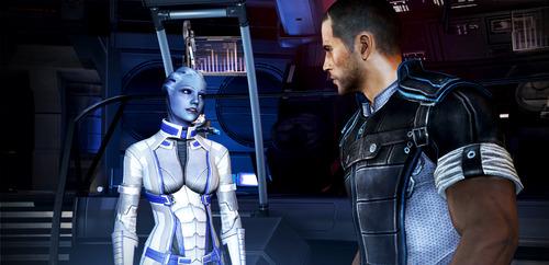 "A screenshot from the game ""Mass Effect 3."""