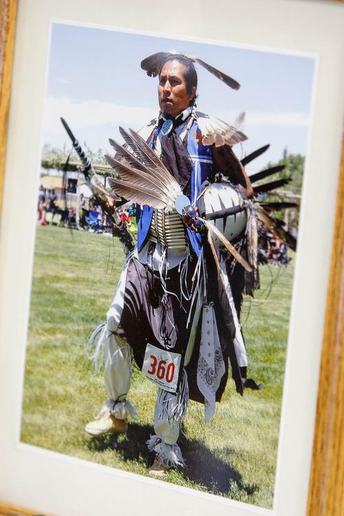 Trent Nelson  |  The Salt Lake Tribune Corey Kanosh in a family photo.
