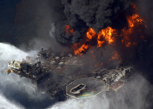 (AP File Photo/Gerald Herbert) The U.S. Justice Department has reached a $1.4 billion settlement with Transocean Ltd. for its role in the Deepwater Horizon disaster in 2010 that killes 11 and spawned a massive oil spill in the Gulf of Mexico.
