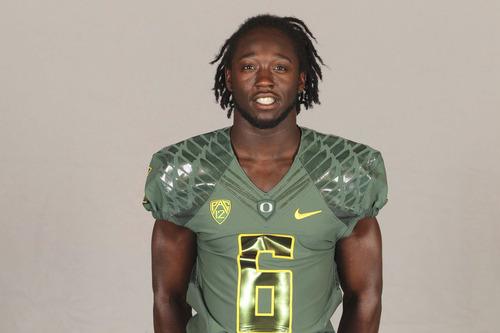 DeAnthony Thomas of the UNiversity of Oregon Football team. Courtesy Oregon