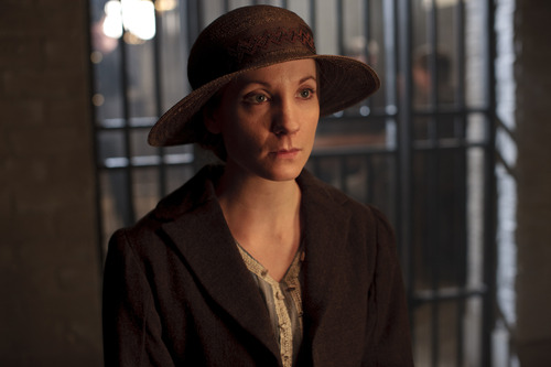 "Anna Bates (Joanne Froggatt ) visits her husband in prison in Season 3 of ""Downton Abbey."" Credit: Courtesy of Carnival Film & Television Limited 2012 for MASTERPIECE"