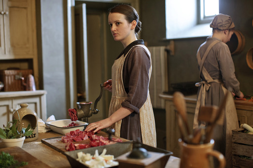 "Sophie McShera stars as Daisy Mason in ""Downton Abbey."" Credit: Courtesy of Carnival Film & Television Limited 2012 for MASTERPIECE"