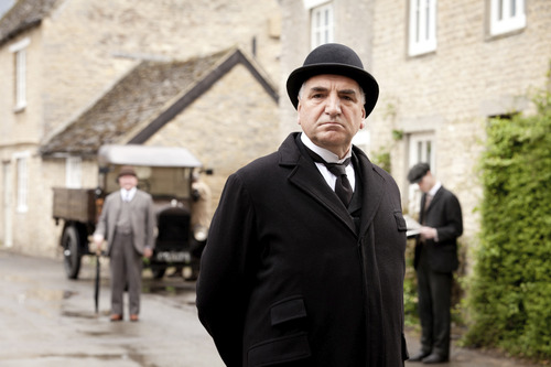 "Jim Carter as Mr. Carson in Season 3 of ""Downton Abbey."" Credit: Courtesy of Carnival Film & Television Limited 2012 for MASTERPIECE"