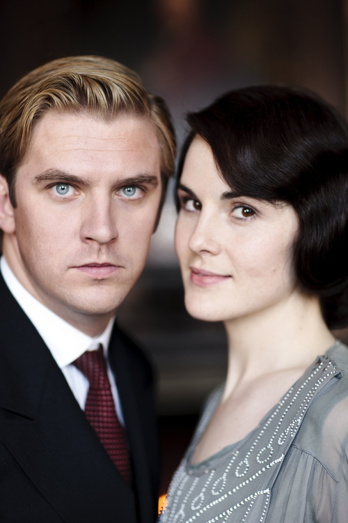 "Dan Stevens as Matthew Crawley and Michelle Dockery as Lady Mary Crawley in Season 3 of ""Downton Abbey."" Credit: Courtesy of Carnival Film & Television Limited 2012 for MASTERPIECE"