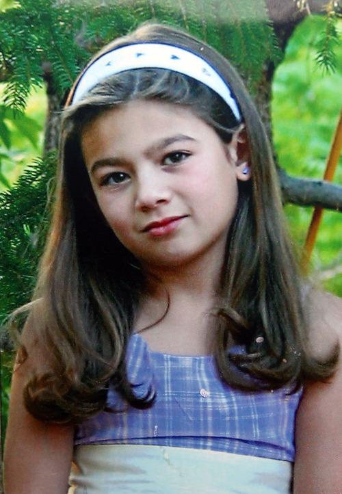 Photo courtesy of Maynard family Ashley Lauren Maynard, age 12.