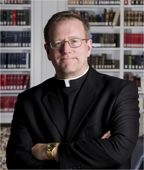 The Rev. Robert Barron, commentator in a TV series on Catholicism, will be speaking in Salt Lake City. (Courtesy photo)