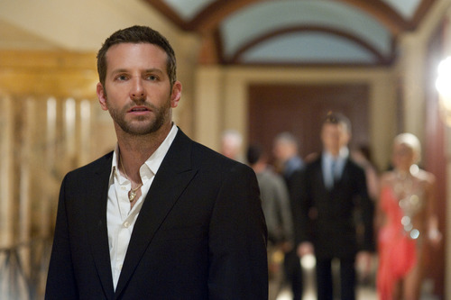 """FILE - This publicity film image released by The Weinstein Company shows Bradley Cooper in """"Silver Linings Playbook."""" Cooper was nominated  for an Academy Award for best actor on Thursday, Jan. 10, 2013, for his role in the film.  The 85th Academy Awards will air live on Sunday, Feb. 24, 2013 on ABC.  (AP Photo/The Weinstein Company, JoJo Whilden, File)"""