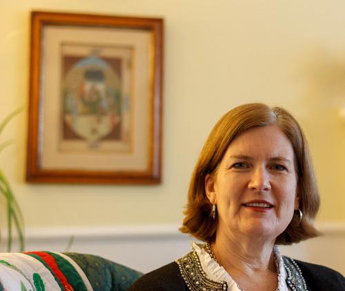 Trent Nelson  |  The Salt Lake Tribune Erika Munson of Mormons Building Bridges, at her home in Sandy, Wednesday December 19, 2012.