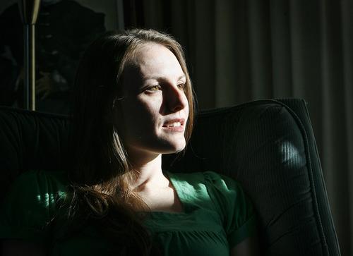 Scott Sommerdorf  |  The Salt Lake Tribune               Bianca Morrison-Dillard in her Provo home, Thursday, December 20, 2012.
