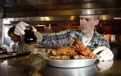 Sweet Crunch Chicken And Waffles Find A Place In Utah The Salt