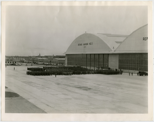 Salt Lake Tribune file photo  A view of Hill Air Force Base is seen in this 1945 photo.