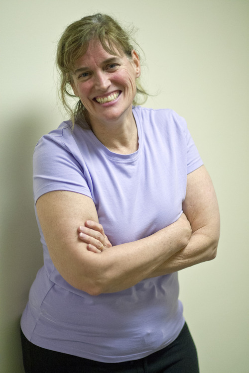 Chris Detrick     The Salt Lake Tribune Dr. Beth Hanlon poses for a portrait at Salt Lake Regional Hospital Thursday January 10, 2013. Hanlon, a doctor who a year ago started a concierge practice, is joining forces with Salt Lake Regional Medical Center's WOW (Women of Wellness) program to provide yoga and zumba classes for her patients.