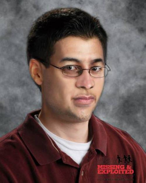 Courtesy photo Jason Wayne Dennis, pictured in a photo manipulated to estimate how he might have aged. Classifled as endangered missing, Jason has been missing from St. George since March 18, 2002, when he was 17.