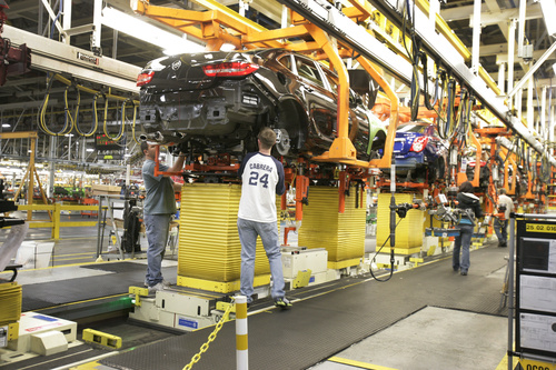 With auto industry roaring it 39 s utah car buyers who are for General motors assembly plant