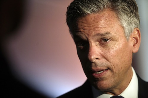 Ashley Detrick  |  Tribune file photo Former Utah Gov. Jon Huntsman says it's time our political leaders started putting country before party. He is one of the chairmen of the No Labels group.