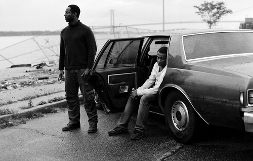 """Isaiah Washington (left) and Tequan Richmond star in """"Blue Caprice,"""" premiering in the Next section of the 2013 Sundance Film Festival. Robert Blake     courtesy Sundance Institute"""