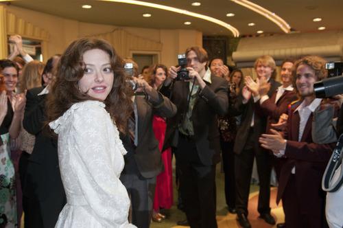 "Amanda Seyfreid portrays porn star Linda Lovelace in the biopic ""Lovelace."" The movie is on the Premieres slate of the 2013 Sundance Film Festival. Courtesy Dale Robinette     Sundance Institute"