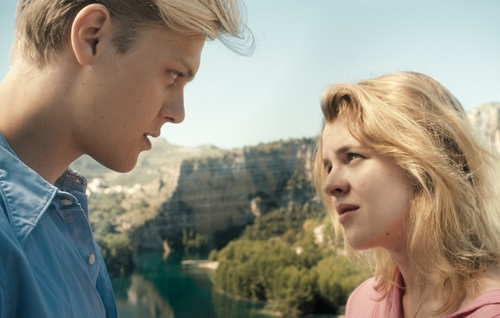 """  courtesy Sundance Institute Jakub Gierszal (left) and Magdalena Berus play Polish students who fall in love in Spain in the drama """"Lasting,"""" playing in the World Cinema Dramatic competition of the 2013 Sundance Film Festival."""