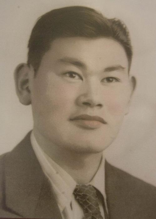 Paul Fraughton  |   The Salt Lake Tribune A photo of Fred Korematsu as a young man.