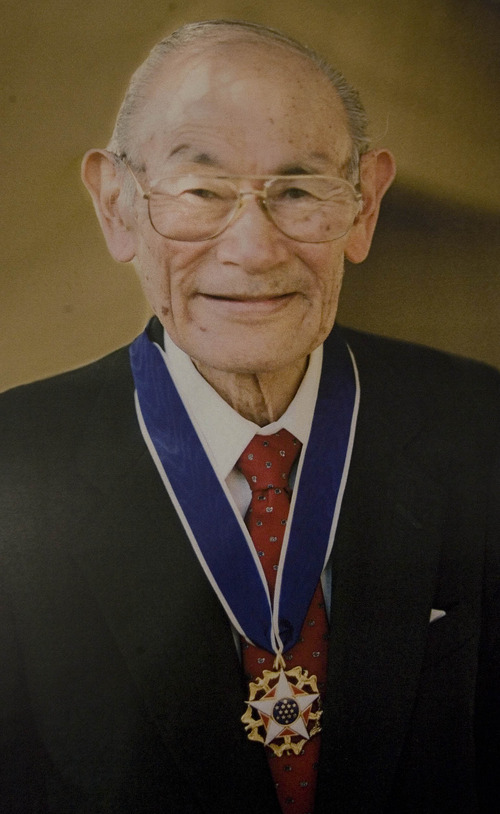 Paul Fraughton  |   Salt Lake Tribune A photo of Fred Korematsu in his later years .  Tuesday, January 15, 2013