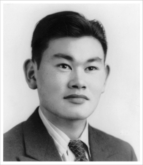 Fred Korematsu, a native of Oakland, Calif., made history at age 23 when he defied authorities who forced Japanese-Americans into internment camps during World War II.  His case ultimately went to the U.S. Supreme Court while he was interned with his family at Topaz, the camp in west central Utah. Utah Gov. Gary Herbert will issue a proclamation on Friday designating Jan. 30 as Fred Korematsu Day. Photo courtesy of Karen Korematsu and the Korematsu Institute