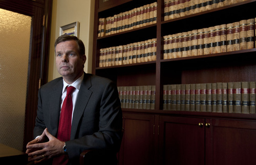 Steve Griffin | Tribune file photo  Utah Attorney General John Swallow says he wants U.S. attorney for Utah to investigate Jeremy Johnson's allegations.