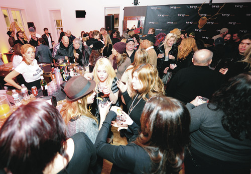 A general view of The Runaways premiere after party hosted by Bing at the 2010 Sundance Film Festival in Park City, Utah on Sunday January 24, 2010. (Jack Dempsey / AP Images for Bing)