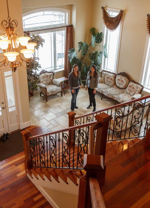 Trent Nelson  |  The Salt Lake Tribune Home seller Melisa Bennett, left, has readied her Draper home for sale with help from real estate agent Angie Domichel Nelden.
