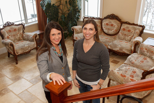 Trent Nelson  |  The Salt Lake Tribune Home seller Melisa Bennett, right, has readied her Draper home for sale with help from real estate agent Angie Domichel Nelden.