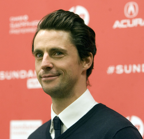 "Kim Raff  |  The Salt Lake Tribune Actor Matthew Goode is photographed on the red carpet for the premiere screening of ""Stoker"" at the Eccles Theatre during the Sundance Film Festival in Park City on January 20, 2013."