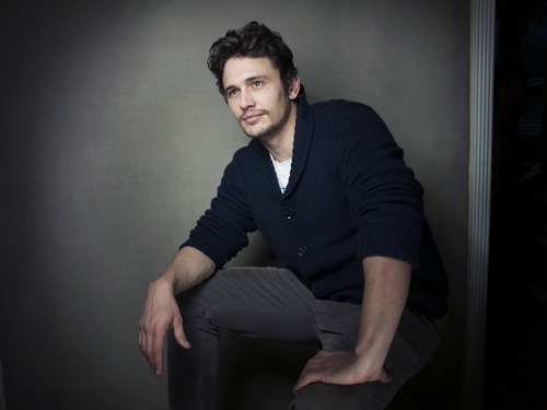 """Producer James Franco from the film """"Kink"""" poses for a portrait during the 2013 Sundance Film Festival on Sunday, Jan. 20, 2013 in Park City, Utah. (Photo by Victoria Will/Invision/AP Images)"""