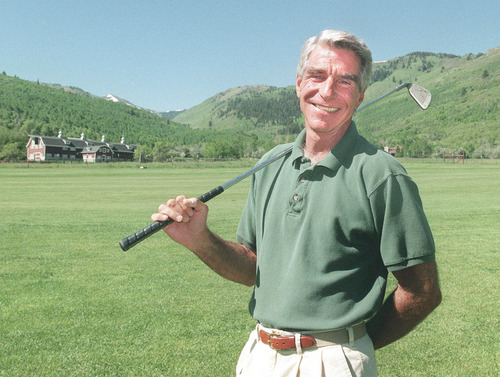 Tribune file photo Harry Reams, former adult film star, hit rock bottom through drugs and alcohol years ago  but has totally turned his life around for the better.  He's a successful real estate man in Park City.  He loves to golf, too.