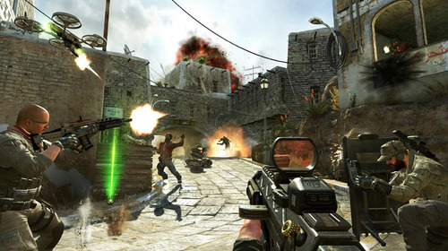 "Courtesy photo Soldiers and terrorists battle in the streets of Yemen in a scene from the video game, ""Call of Duty: Black Ops II."""