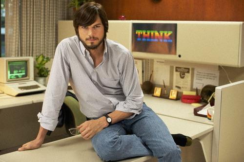 "Ashton Kutcher portrays Apple Computers founder Steve Jobs in the biopic ""jOBS.""  The movie is on the Premieres slate of the 2013 Sundance Film Festival. Courtesy Glen Wilson  |  Sundance Institute"