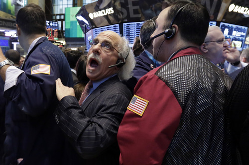 (AP Photo/Richard Drew) Americans' latest stock-market romance is only a few weeks old and could easily fade before it becomes something more serious. Some market watchers warn that given the big run-up in prices, the market is ripe for at least a brief correction.