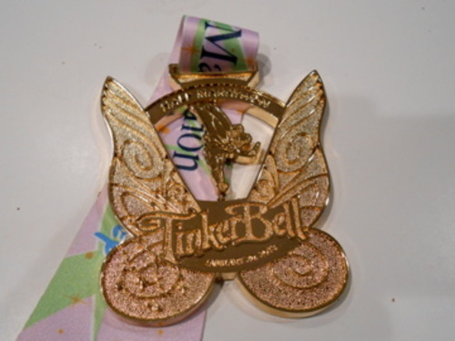 Courtesy photo A medal Ann Cannon earned running a half marathon with her daughter-in-law.