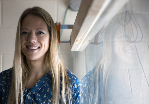 Julie Crockett • BYU mechanical engineering professor.