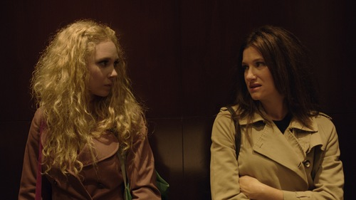 """   courtesy Sundance Institute  Hathryn Hahn (right) and Juno Temple star in the dark comedy """"Afternoon Delight,"""" playing in the U.S. Dramatic competition at the 2013 Sundance Film Festival."""