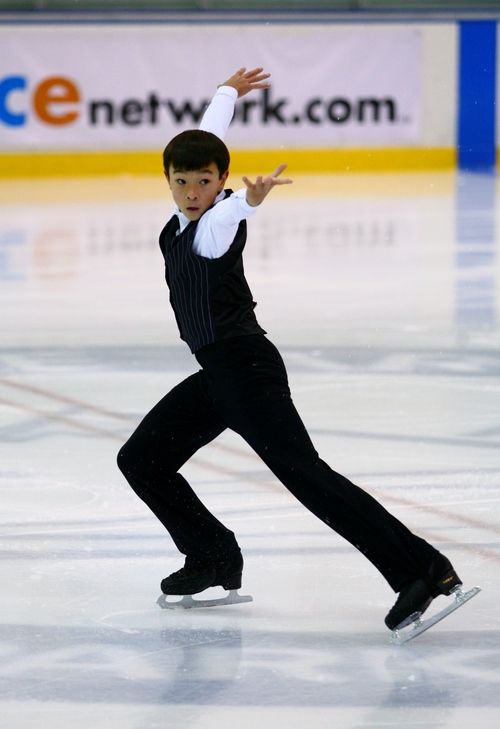 Courtesy QuickSilverShots Kendrick Weston is one of eight Utah figure skaters to qualify for nationals this year.