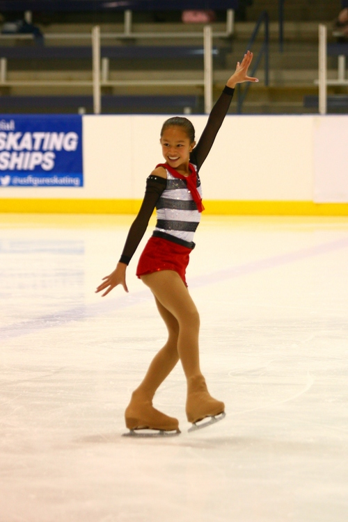 Courtesy QuickSilverShots Amalia Friess is one of eight Utah figure skaters to qualify for nationals this year.