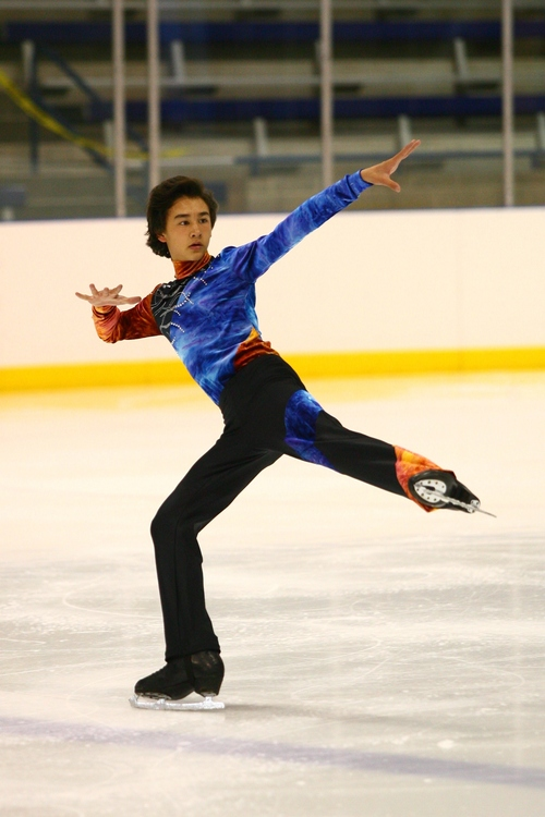 Courtesy QuickSilverShots Mitchell Friess is one of eight Utah figure skaters to qualify for nationals this year.